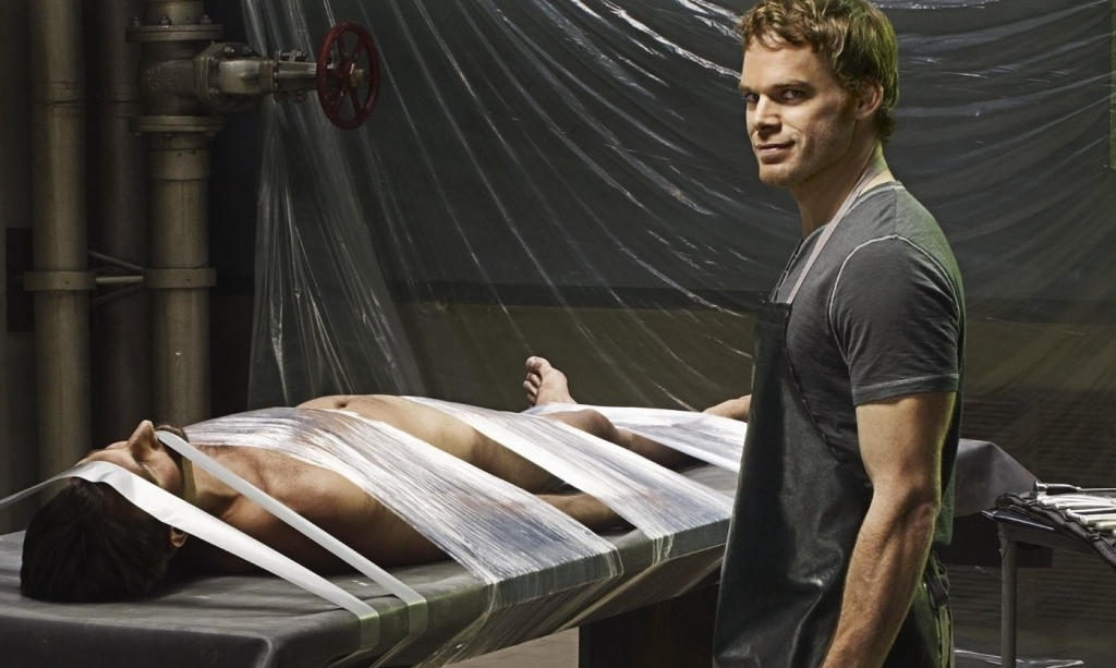Dexter Morgan, from 'Dexter'