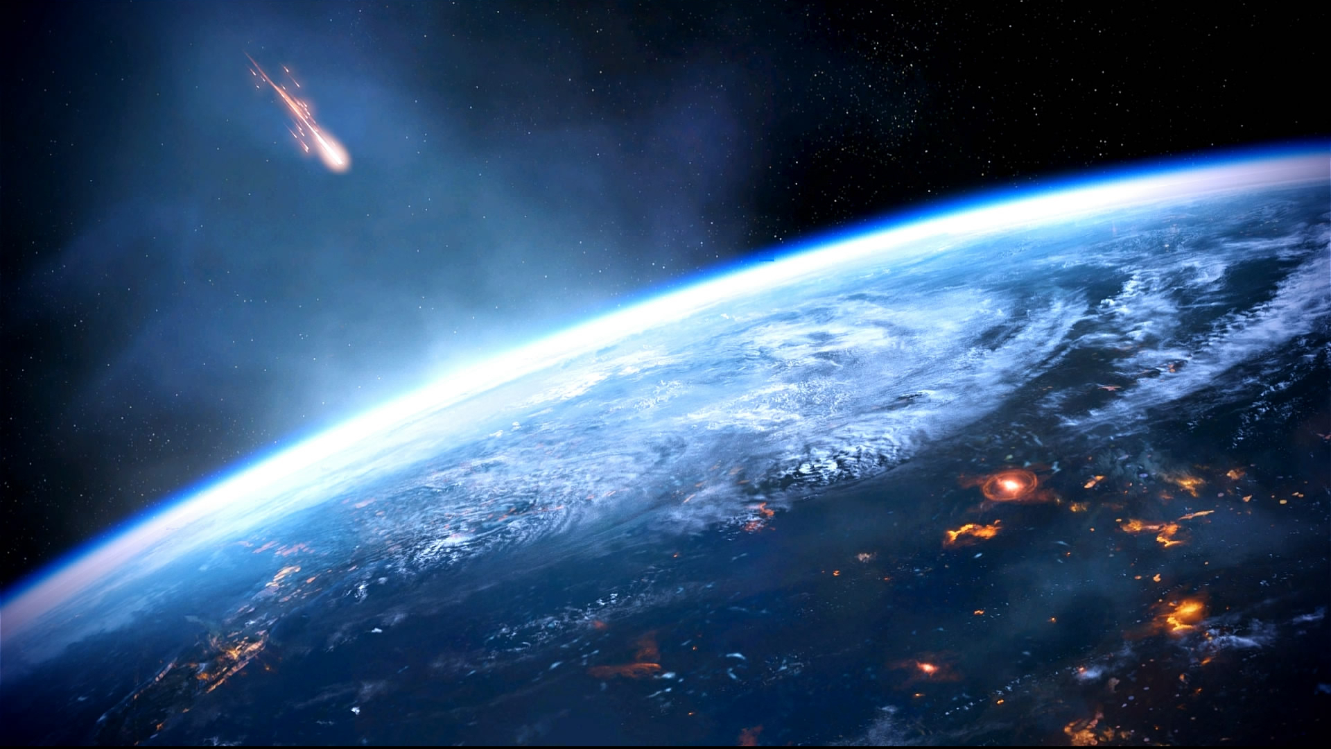 Mass Effect 3 Earth Dreamscene by droot1986