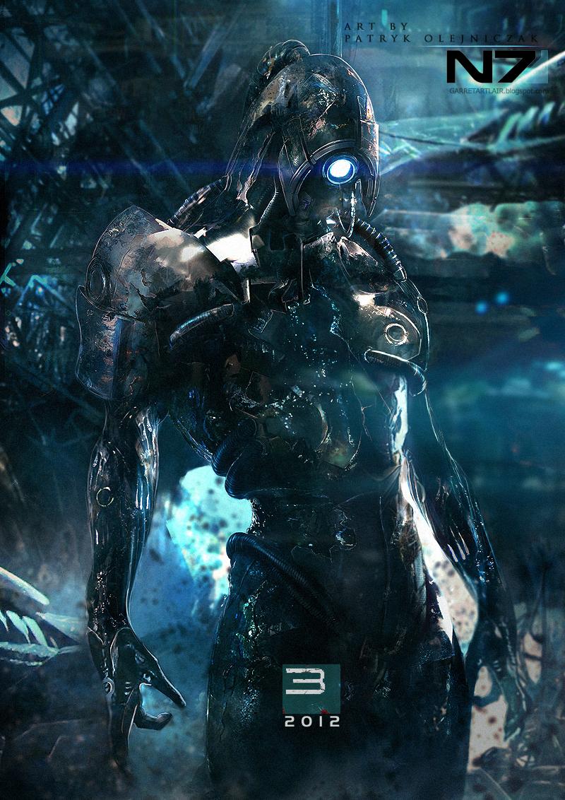 Mass Effect 3 Legion by Patryk Olejniczak