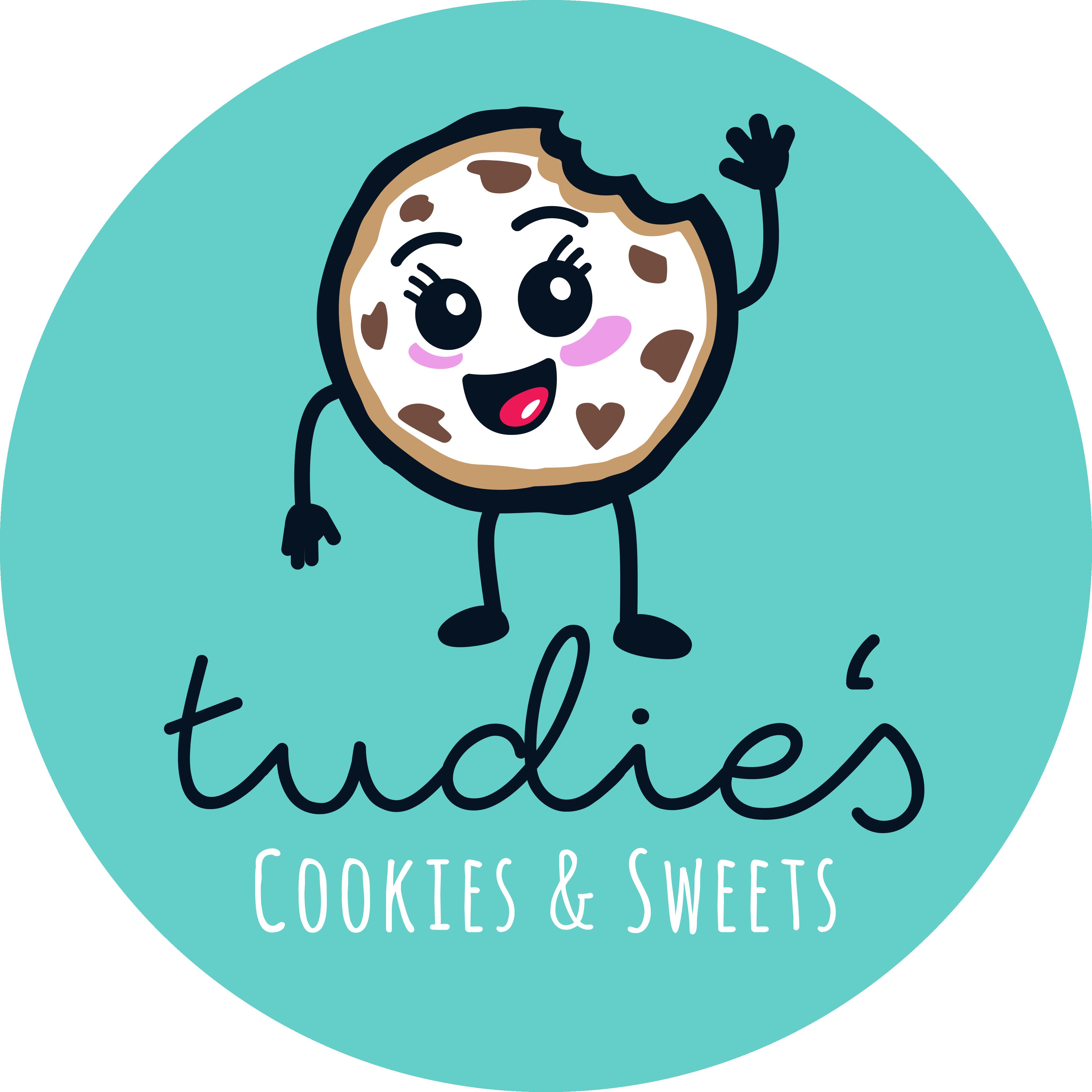 Tudie's Cookies & Sweets logo